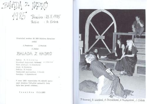 1985 Balada z hadru 1