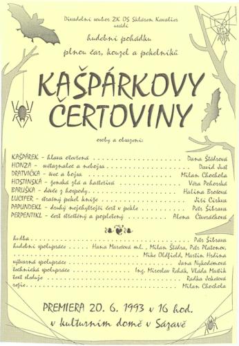 1993 Kašpárkovy čertoviny